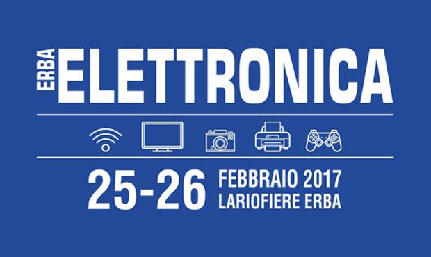 Erba elettronica a erba sabato 25 e domenica 26 febbraio 2017 for Fiera elettronica 2017