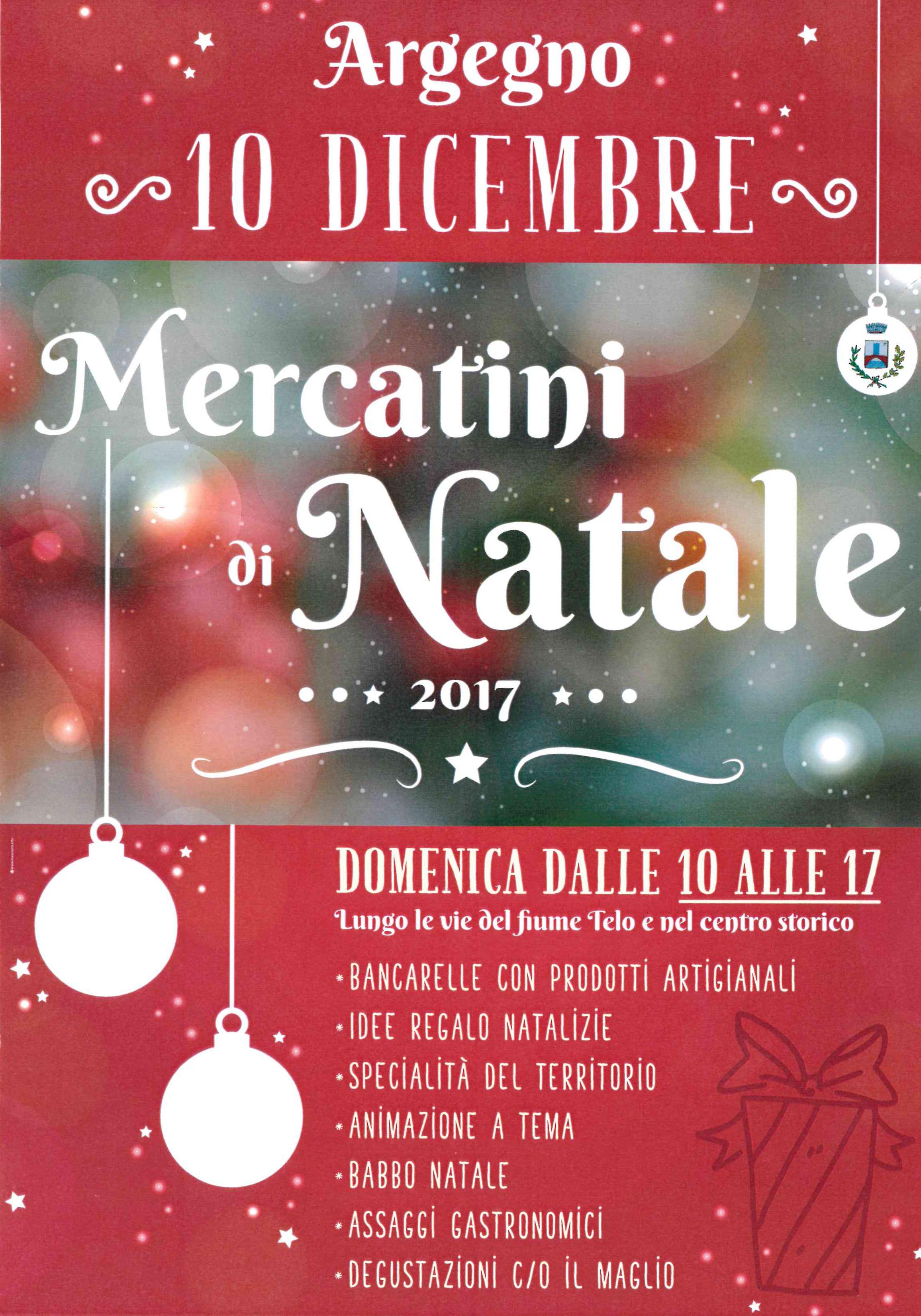 Mercatini di natale ad argegno 10 dicembre 2017 for Mercatini di natale milano 2017