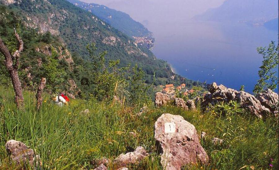 sentiero onno per san giorgio una vista spettacolare