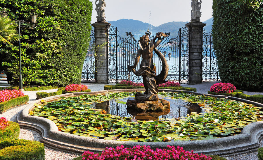 fontana villa carlotta